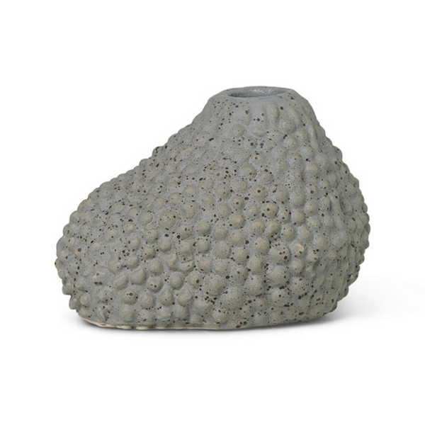 Ferm LivingVulca Mini Vase Grey Dots - Batten Home