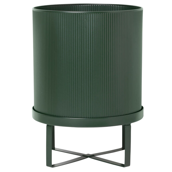 Ferm LivingBau Pot Large in Dark Green - Batten Home