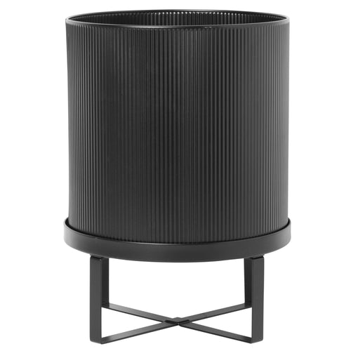 Ferm LivingBau Pot Large in Black - Batten Home