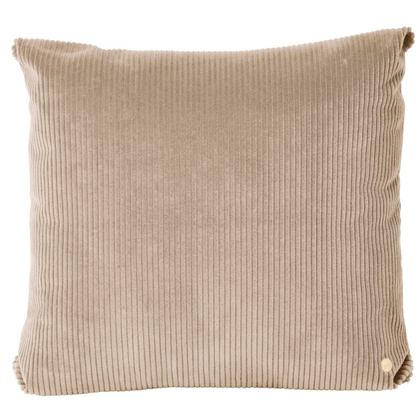 Ferm LivingCorduroy Cushion Beige - Batten Home