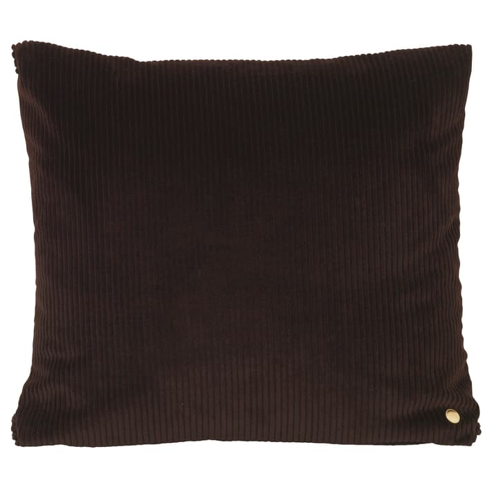 Ferm LivingCorduroy Cushion Chocolate - Batten Home
