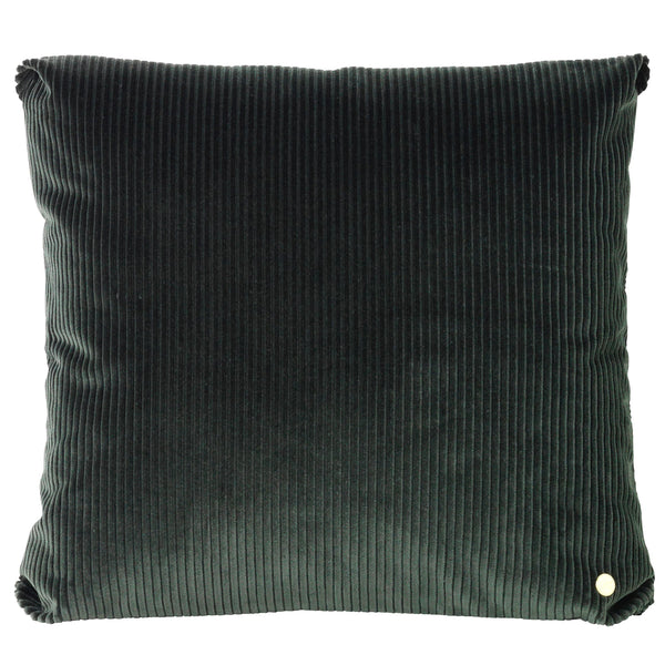 Ferm LivingCorduroy Cushion Green - Batten Home