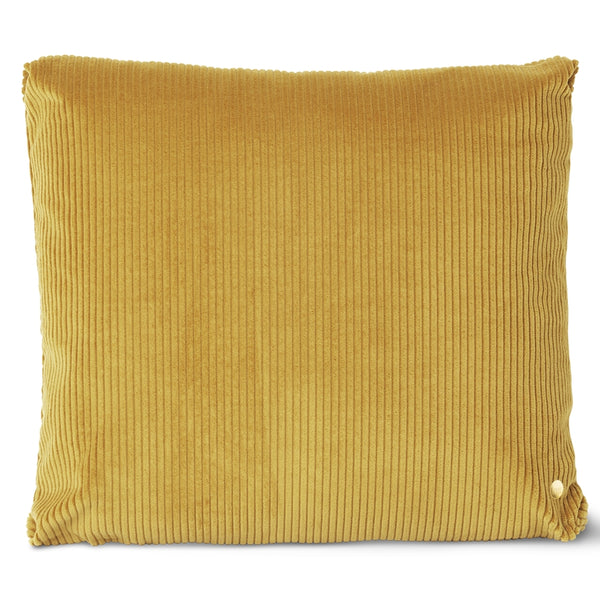 Ferm LivingCorduroy Cushion Mustard - Batten Home