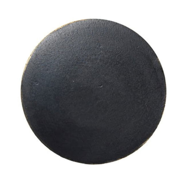 Ferm LivingHook Black Brass Flat Circle - Batten Home