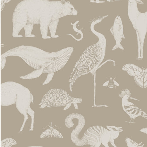 Ferm LivingKatie Scott Wallpaper Animal Sand - Batten Home