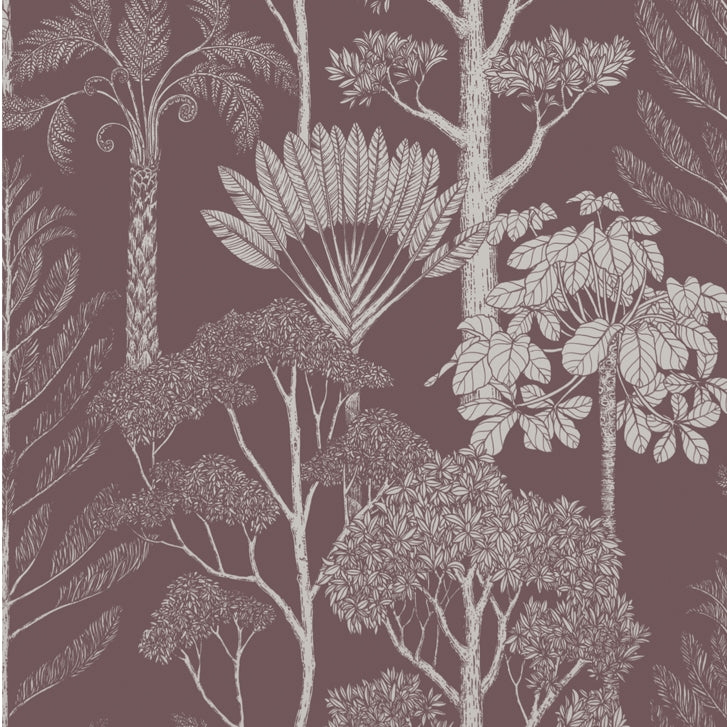 Ferm LivingKatie Scott Wallpaper Trees Mahogany - Batten Home