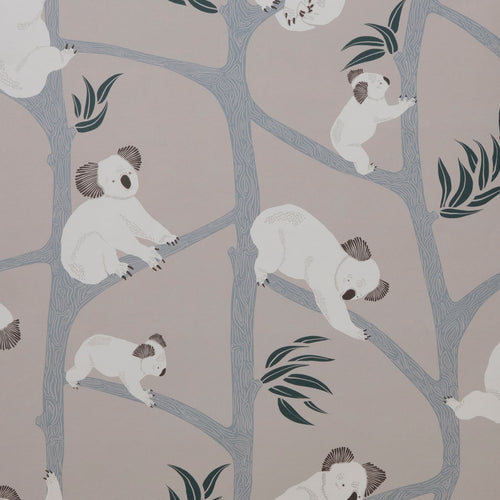 Ferm LivingKoala Wallpaper Grey - Batten Home