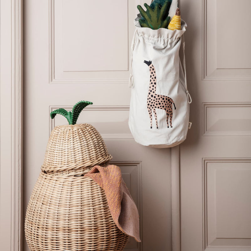 Ferm LivingPear Braided Storage Basket - Batten Home