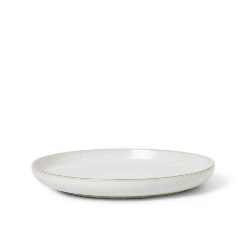 Sekki Plate in Cream