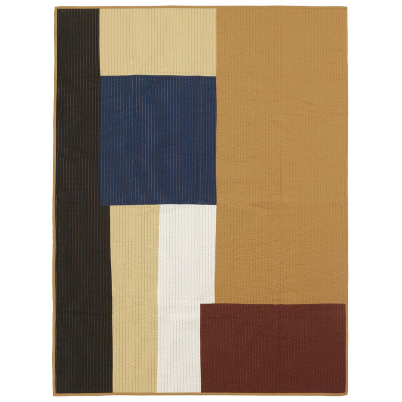 Shay Patchwork Quilted Blanket - Batten Home