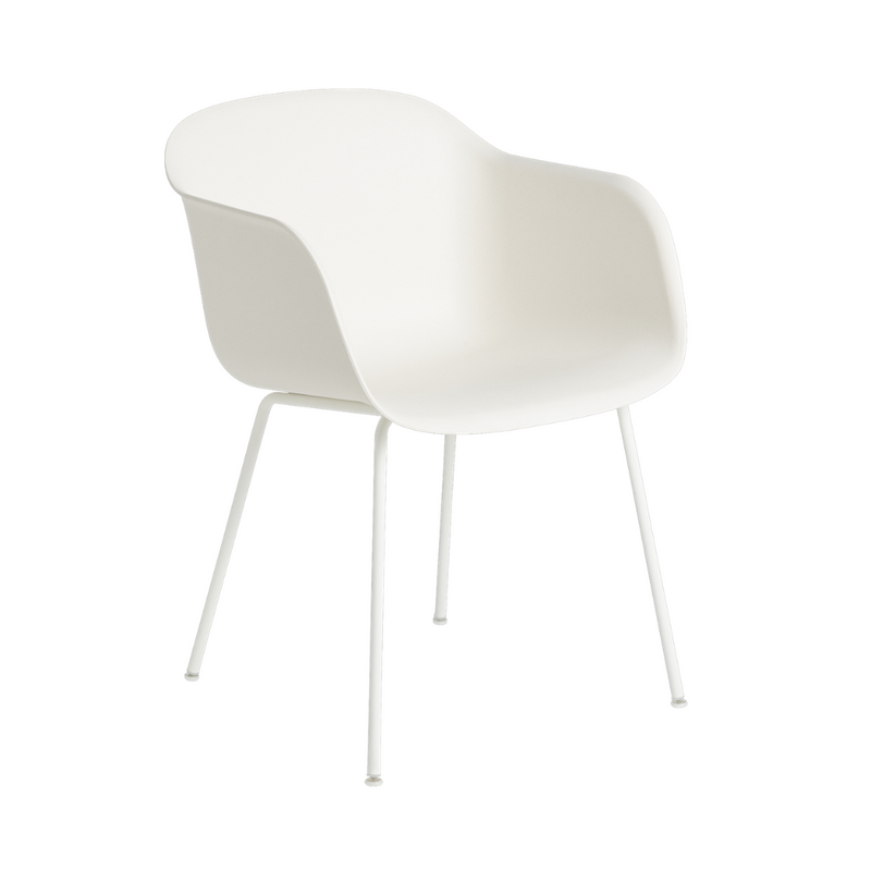 MuutoFiber Armchair - Tube Base - Batten Home