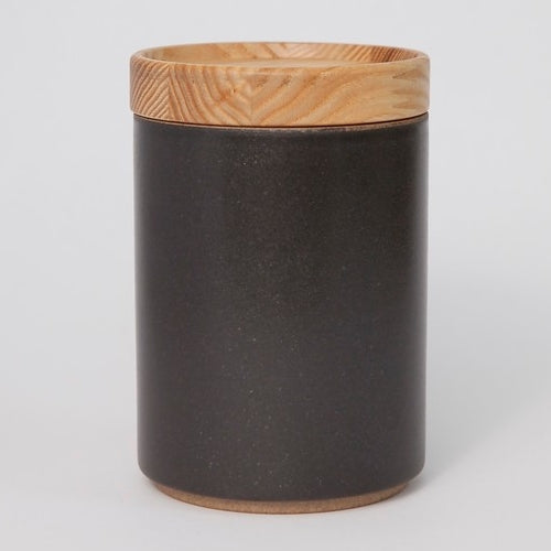 Hasami PorcelainContainer in Black - Batten Home