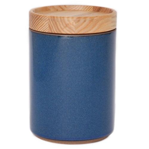 Hasami PorcelainContainer in Gloss Blue - Batten Home