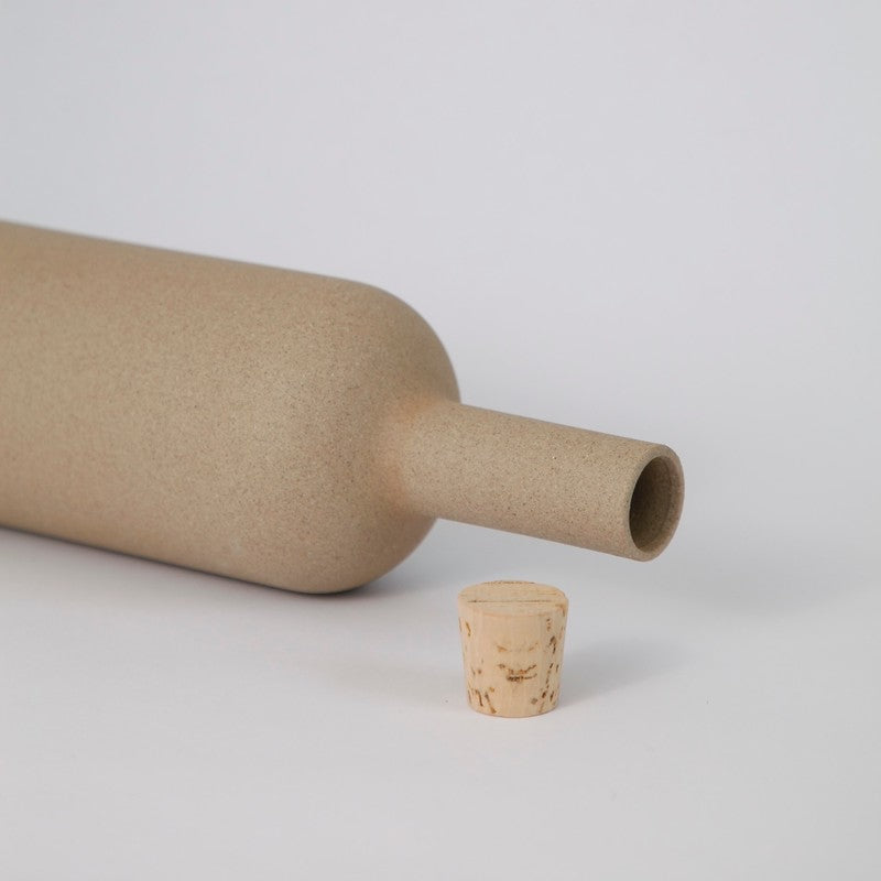 Hasami PorcelainBottle in Natural - Batten Home