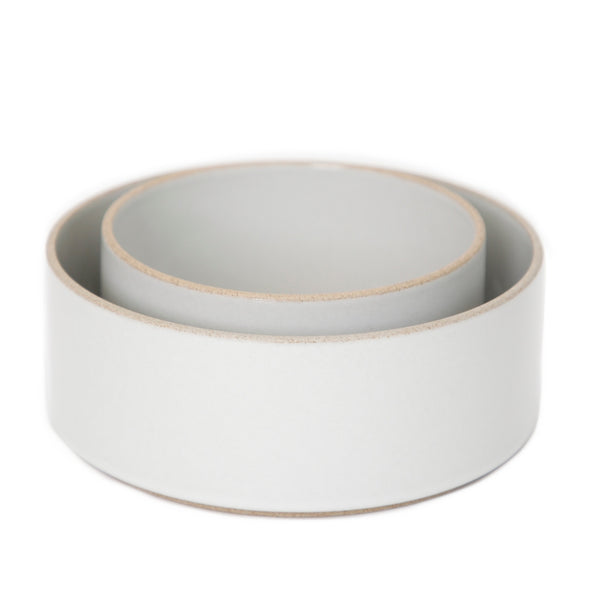 Hasami PorcelainTall Bowl Gloss Gray - Batten Home