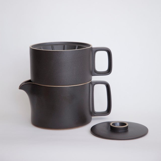 Hasami PorcelainTea Pot in Black - Batten Home