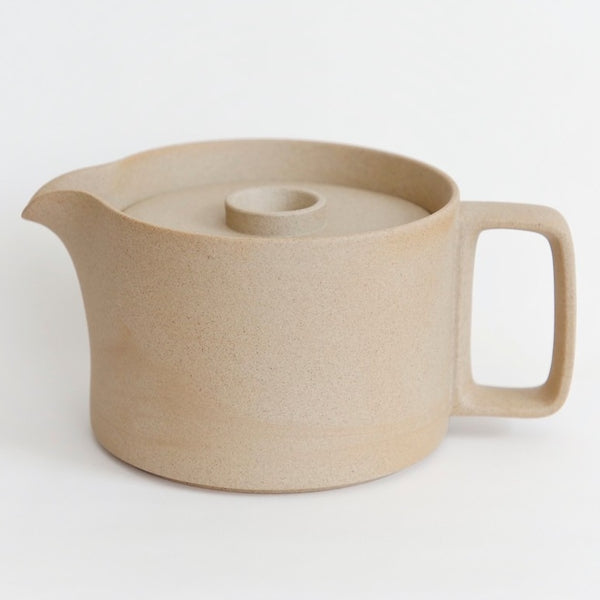 Hasami PorcelainTea Pot in Natural - Batten Home