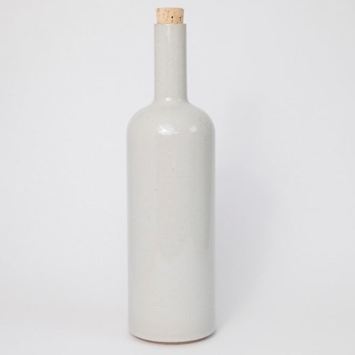 Hasami PorcelainBottle in Gloss Gray - Batten Home