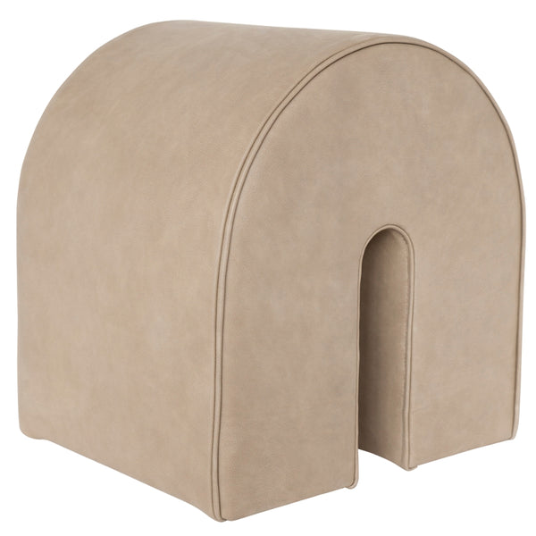 Kristina DamCurved Pouf - Batten Home
