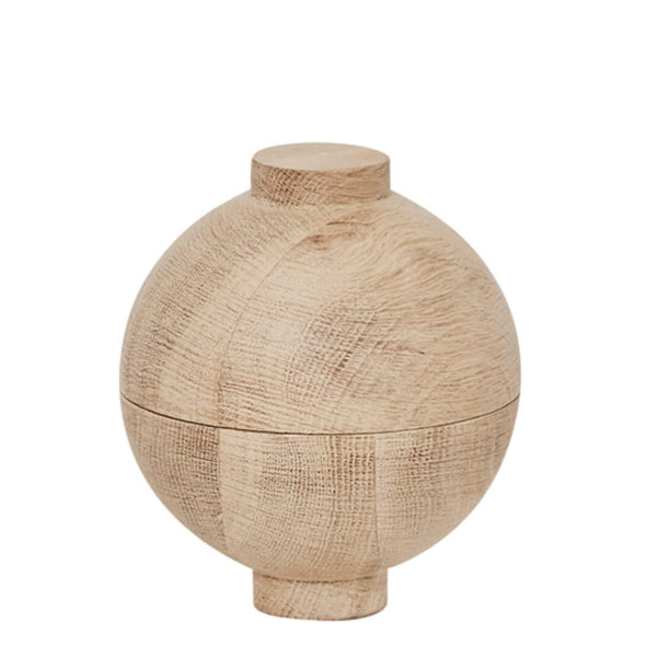 Wooden Sphere Oak - Batten Home
