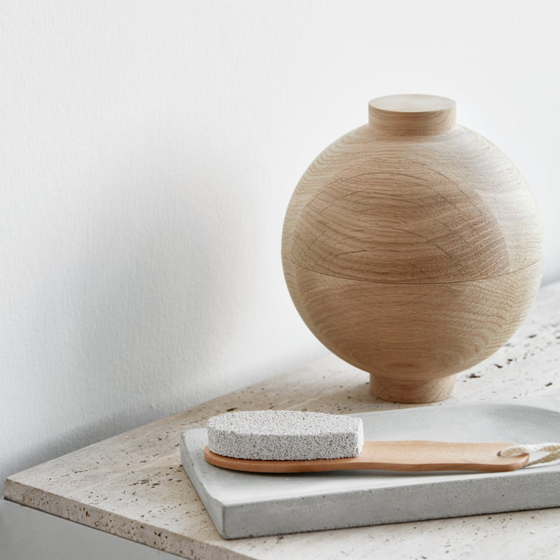 Kristina DamWooden Sphere Oak - Batten Home