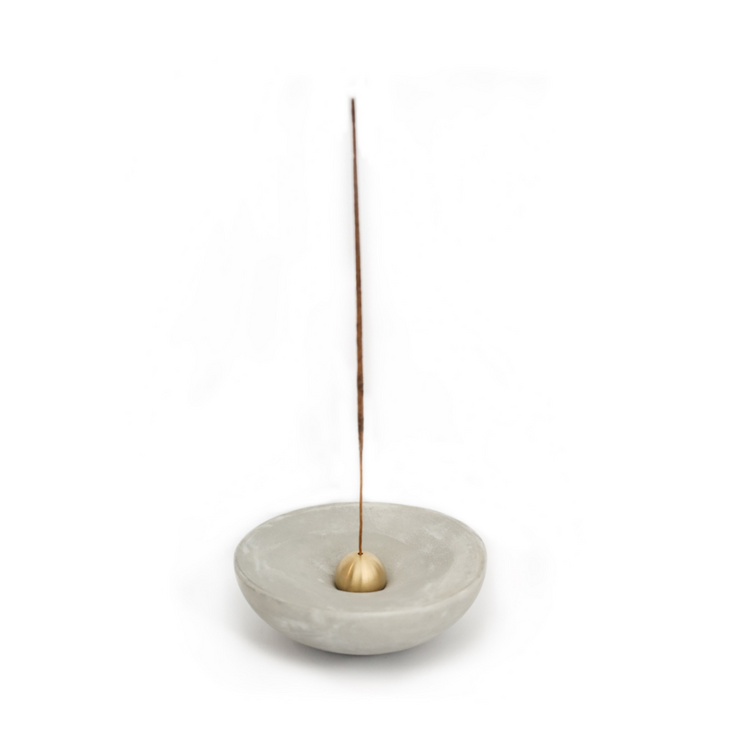 The Vorta Candlestick and Incense Holder by Light + Ladder is soon to be one of your favorite Batten Home pieces. We love the versatility of this single piece, as it can be assembled as a sculptural incense holder or disassembled to burn an incense and taper candle simultaneously.