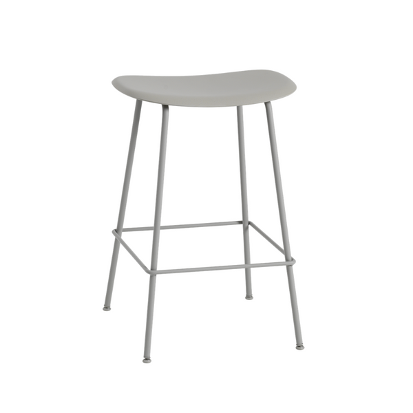 MuutoFiber Counter Stool - Tube Base - Batten Home