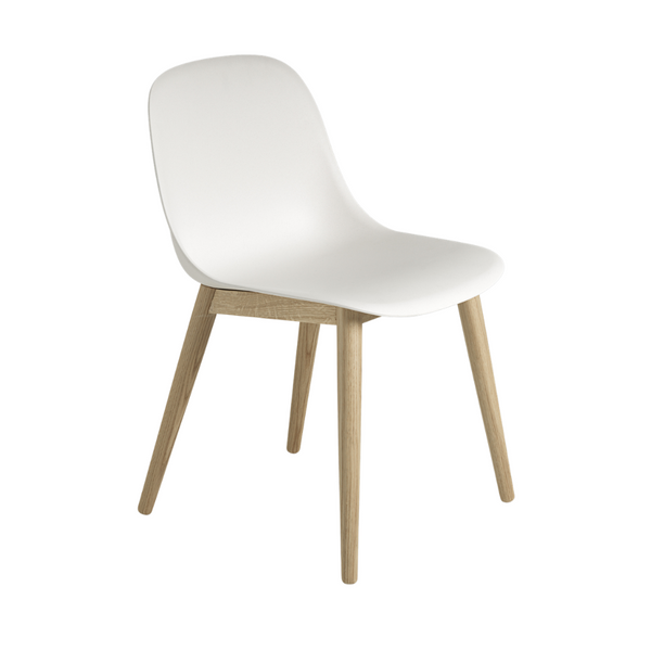 MuutoFiber Side Chair - Wood Base - Batten Home