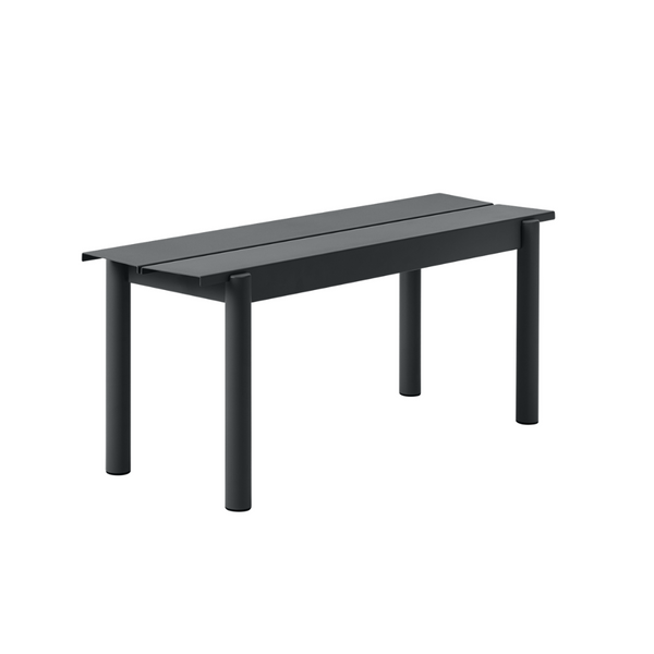 Linear Steel Bench 110 x 34 - Batten Home
