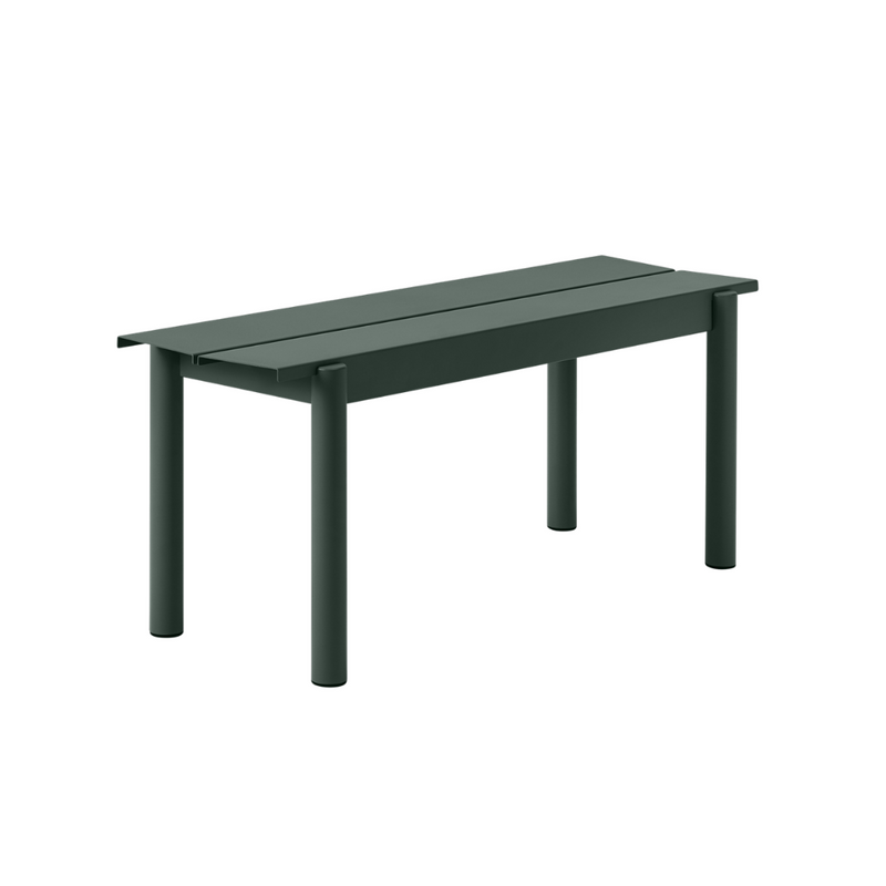 MuutoLinear Steel Bench 110 x 34 - Batten Home