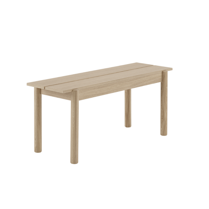 MuutoLinear Wood Bench 110 x 34 - Batten Home