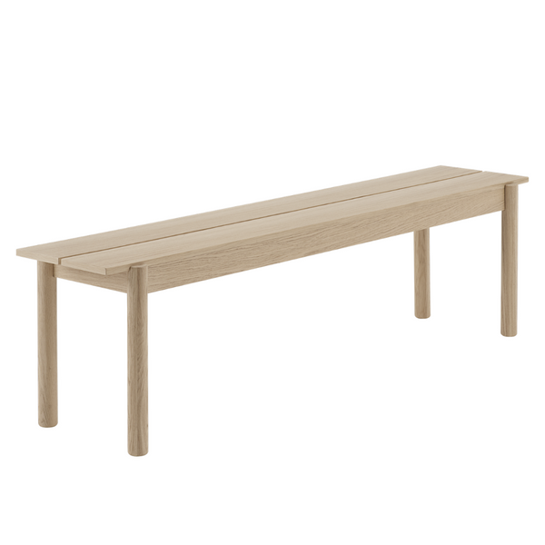 MuutoLinear Wood Bench 170 x 34 - Batten Home