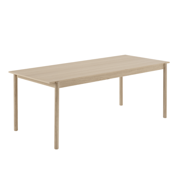 MuutoLinear Wood Table 200 x 90 - Batten Home