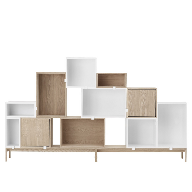 MuutoStacked Storage System Small - Backboard - Batten Home