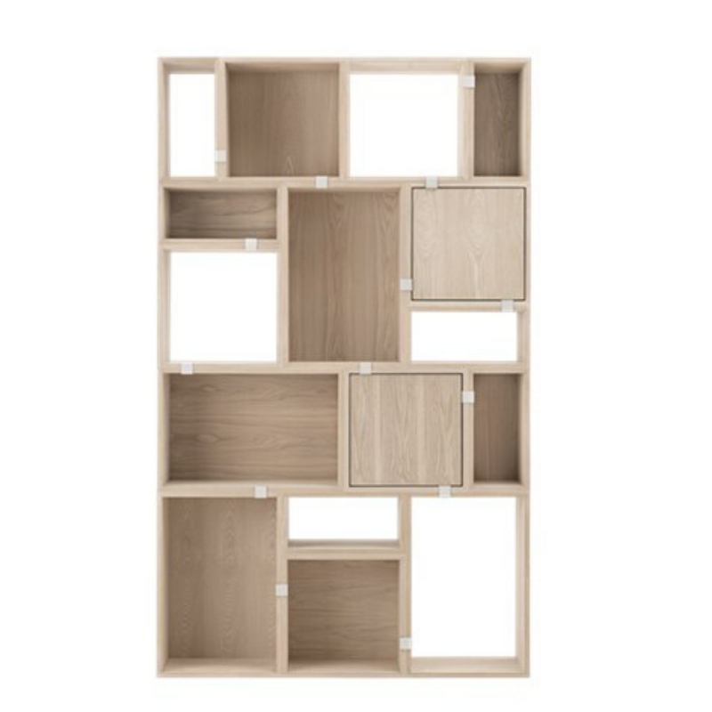 MuutoStacked Storage System Medium - Backboard - Batten Home