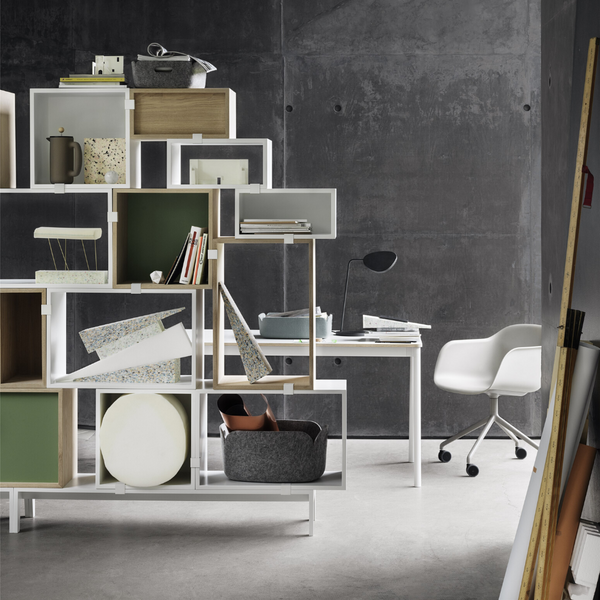MuutoStacked Storage System Podium - Batten Home