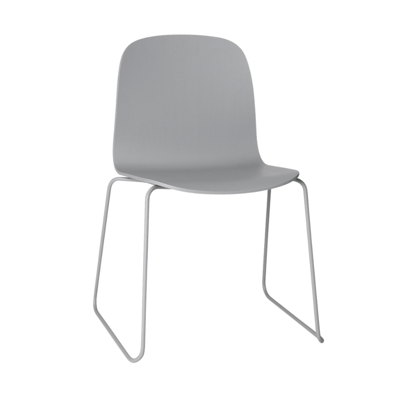 MuutoVisu Chair - Sled Base - Batten Home