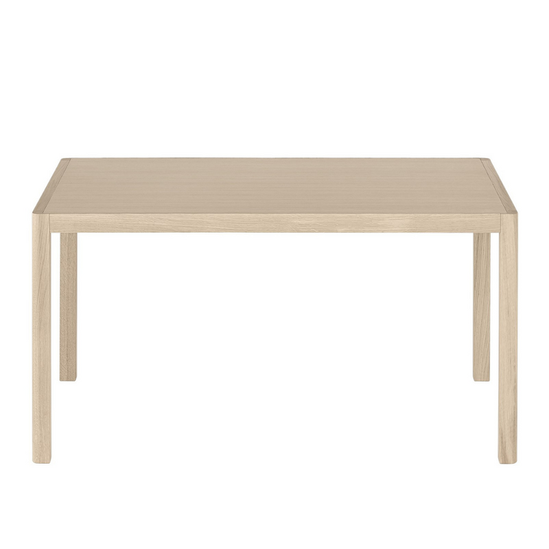 The Workshop Table 140 by MUUTO was designed in collaboration with Cecilie Manz resulting in a modern table made from high quality materials with attention to detail.