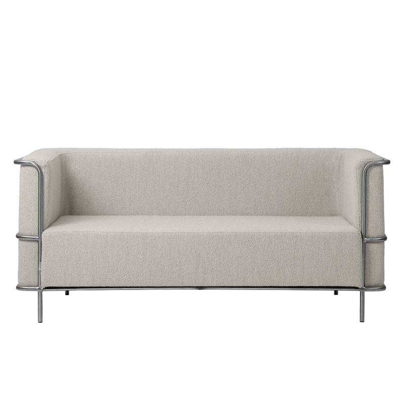 The Modernist Sofa 2-Seater is part of the beautiful Modernist Collection by Kristina Dam. We love everything about this series of seating solutions, including the details and contrast provided by the high-quality materials utilized.