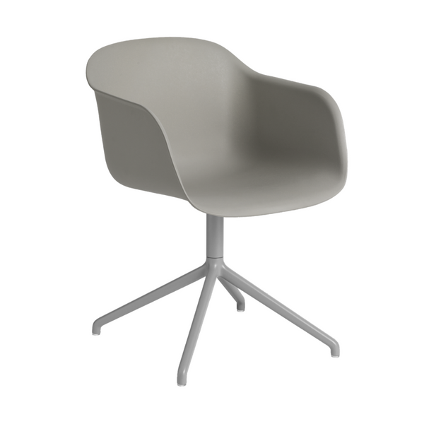 MuutoFiber Armchair - Swivel Base - Batten Home