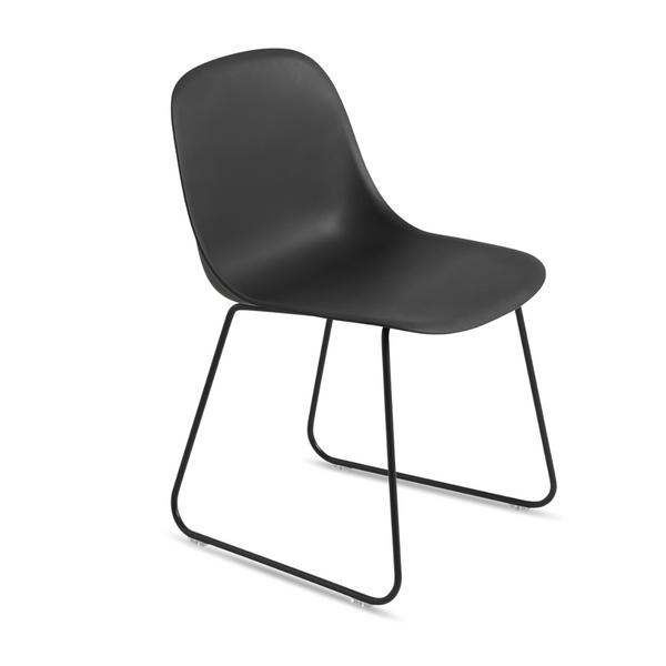 MuutoFiber Side Chair - Sled Base - Batten Home