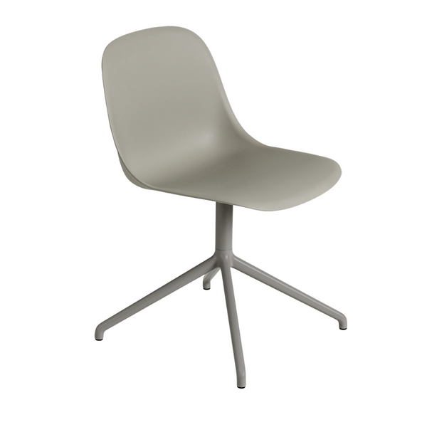 MuutoFiber Side Chair - Swivel Base - Batten Home