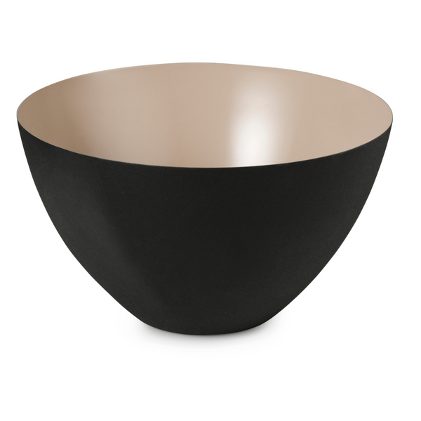 The Krenit Bowl by Normann Copenhagen was inspired by contemporary shapes that are both expressive and fully functional for everyday use. We love its distinct shape, which is both vintage yet modern.The Krenit Bowl is available in five different sizes, and looks great when used as a set or solo.