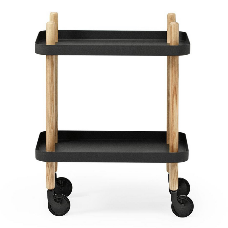 The Block Table by Normann Copenhagen is a playful and modern addition to any room of the home. The Block Table has fully functioning wheels which allow it to move easily from space to space, which also makes it a fun addition to a playroom.