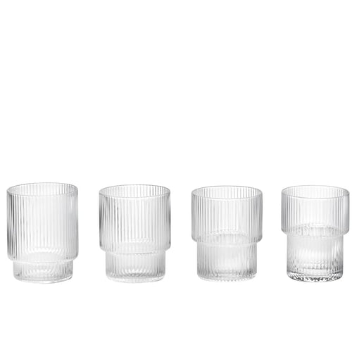 Ferm LivingRipple Glass Set - Batten Home