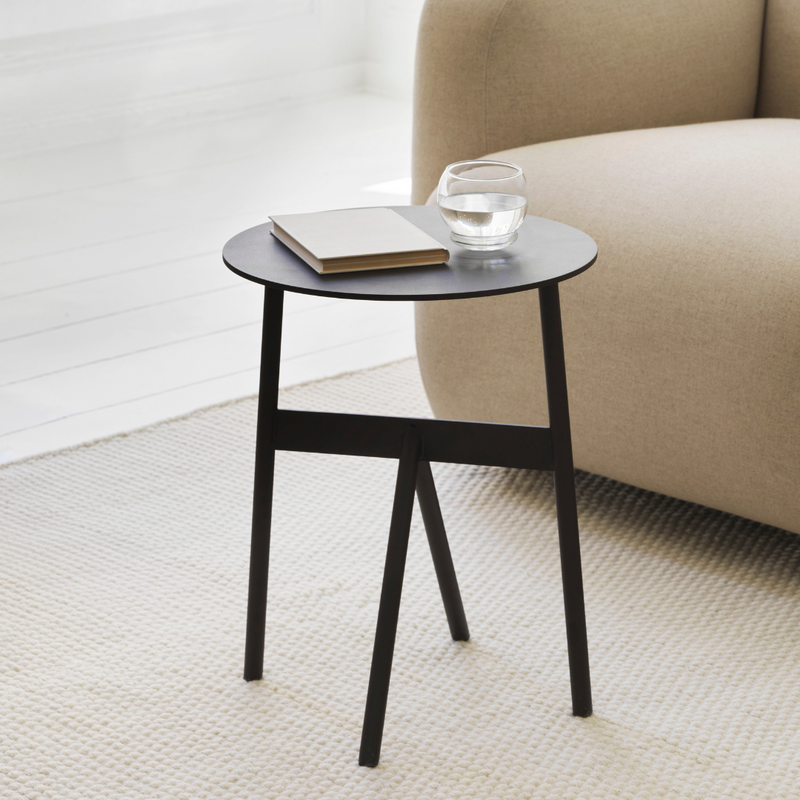 The Stock Table by Normann Copenhagen is a versatile, side table - that will fit into any space throughout the modern home. We love it next to a sofa topped with your favorite candle or current reading material, but it's also a perfect side table for the bedroom.