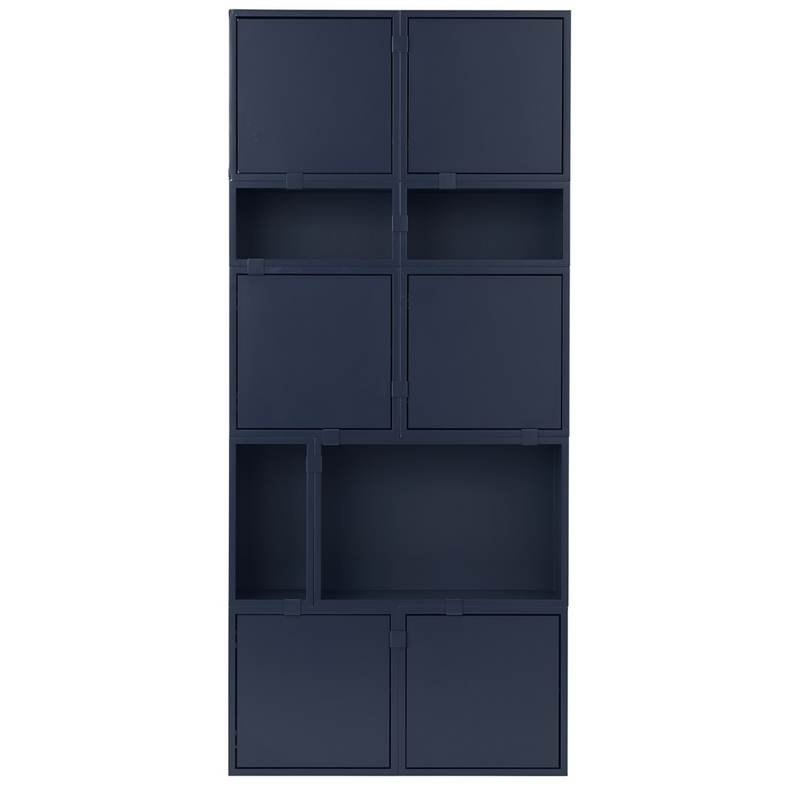 The Stacked Storage System in Configuration Eleven by MUUTO is a thoughtfully curated product using the Stacked Storage System Collection. Individually, the Stacked Storage System can be modified in endless ways to create and aesthetically pleasing storage solution in any space needed.
