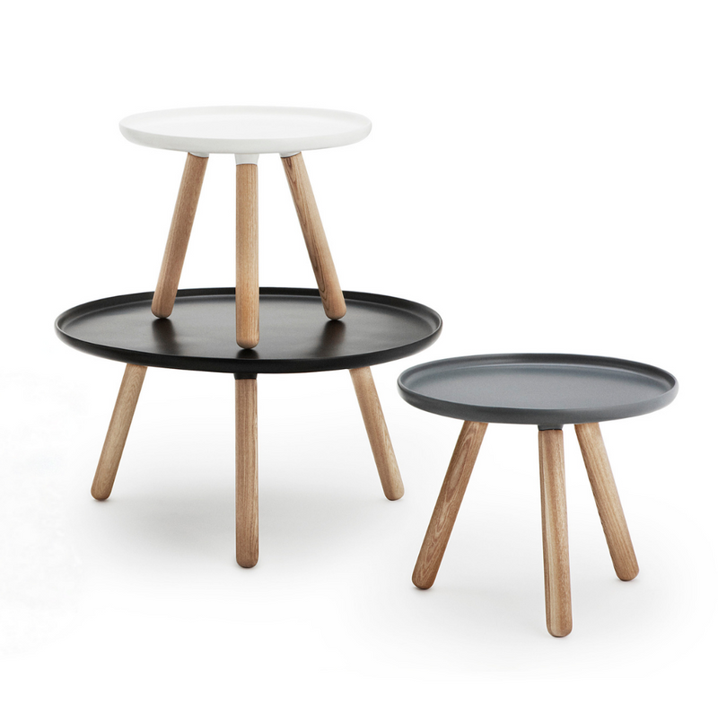 The Tablo Table Large by Normann Copenhagen was designed by Nicholai Wiig as a fun take on a minimal table, with a bold wide top paired with wooden legs. The simple design allows it to blend in with any homes style, we love it as a statement piece in the living room, its large surface area makes the perfect coffee table.