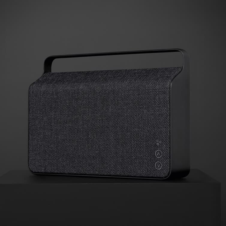 VifaCopenhagen 2.0 Bluetooth Wireless Portable Speaker Slate Black - Batten Home