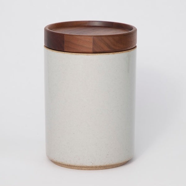 Hasami PorcelainContainer in Gloss Gray - Batten Home